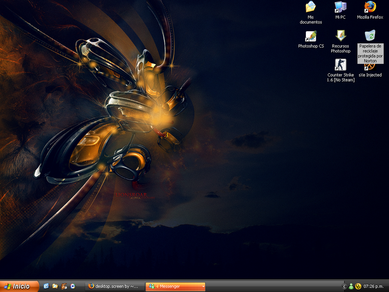 desktop.screen by Bvk