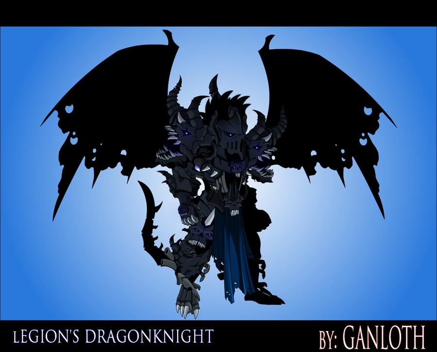 Undead Legion's Dragonknight by Bill-James