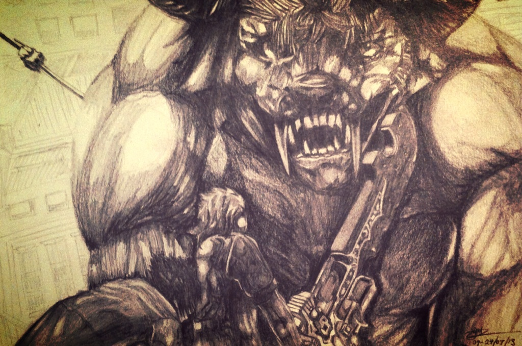 Final Fantasy XV- Behemoth by Bill-James