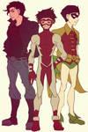Teen Titans: Robin, Superboy and Impulse