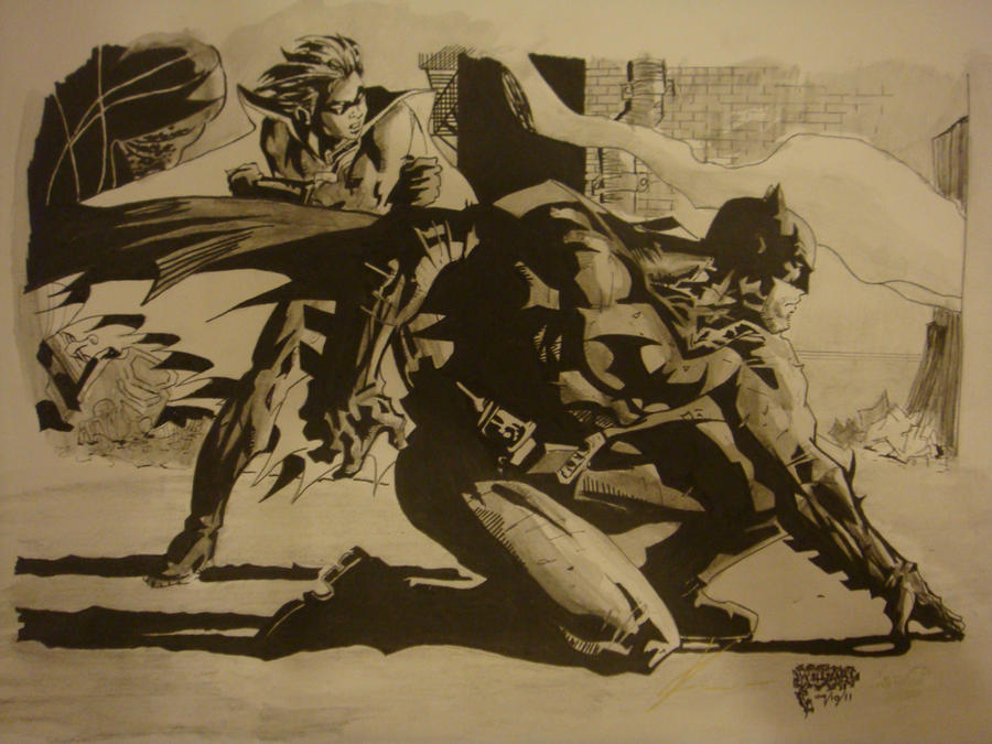Batman and Robin by kenji-dude-guy