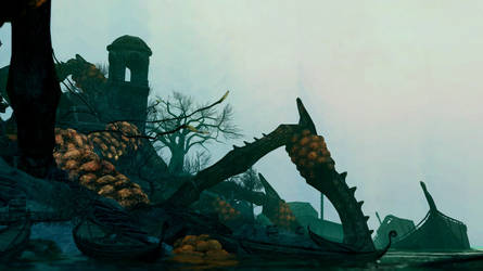 Silent island by Agavgav