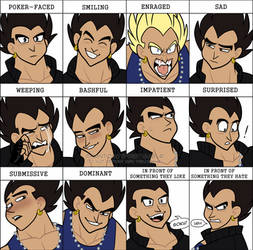 expression meme - vegeta jr. by TheUltimateEnemy