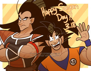 saiyan day 2019 by TheUltimateEnemy