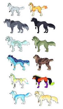 wolf's thunder - shorin's pack