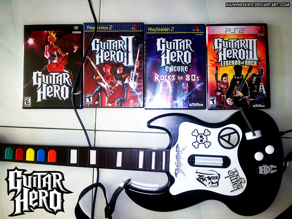 I love guitar hero watch the end 4