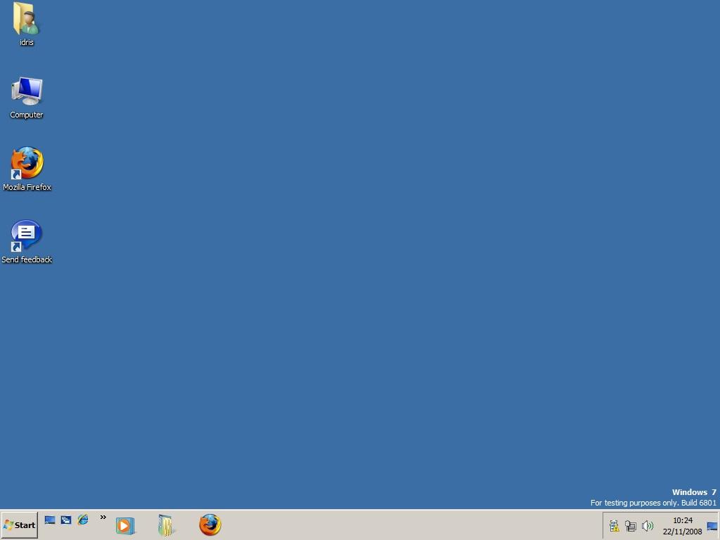 Windows 7 6801 + Classic Theme
