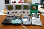 Current GameBoy collection
