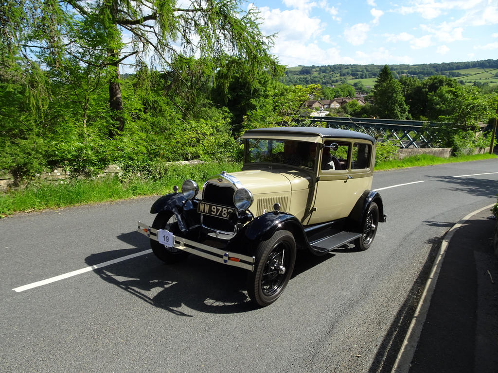 1929 Ford Model A Tudor by omick
