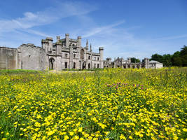 Lowther Castle by omick