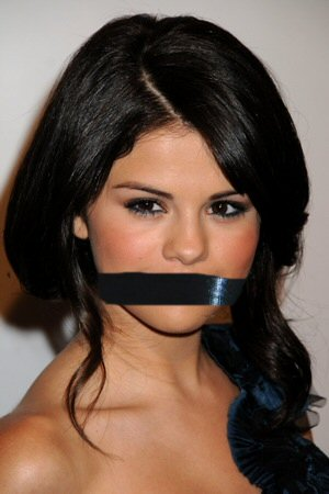Selena Gomez Gagged by MeaningOfAlone