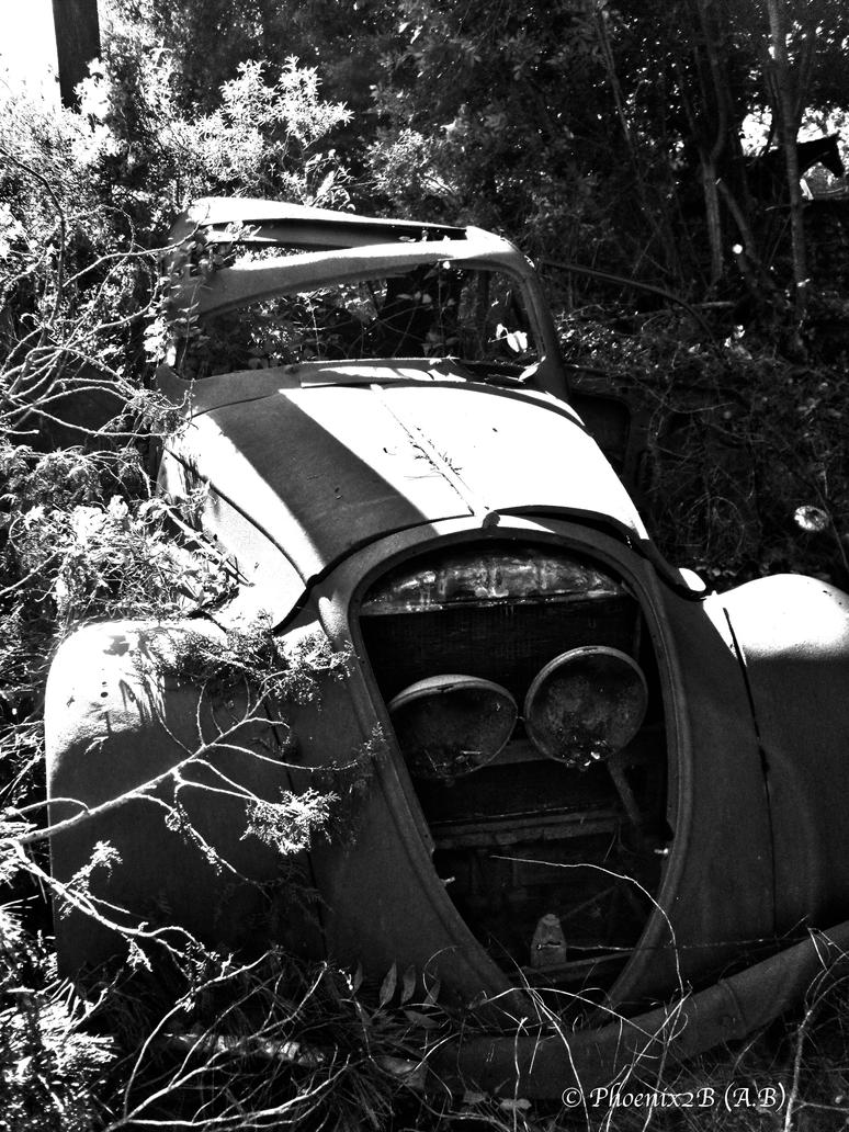 Old car in nature by *Phoenix2b on deviantART