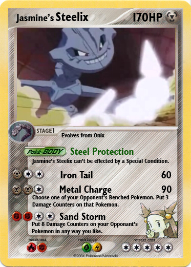how to get steelix in heartgold from jasmine