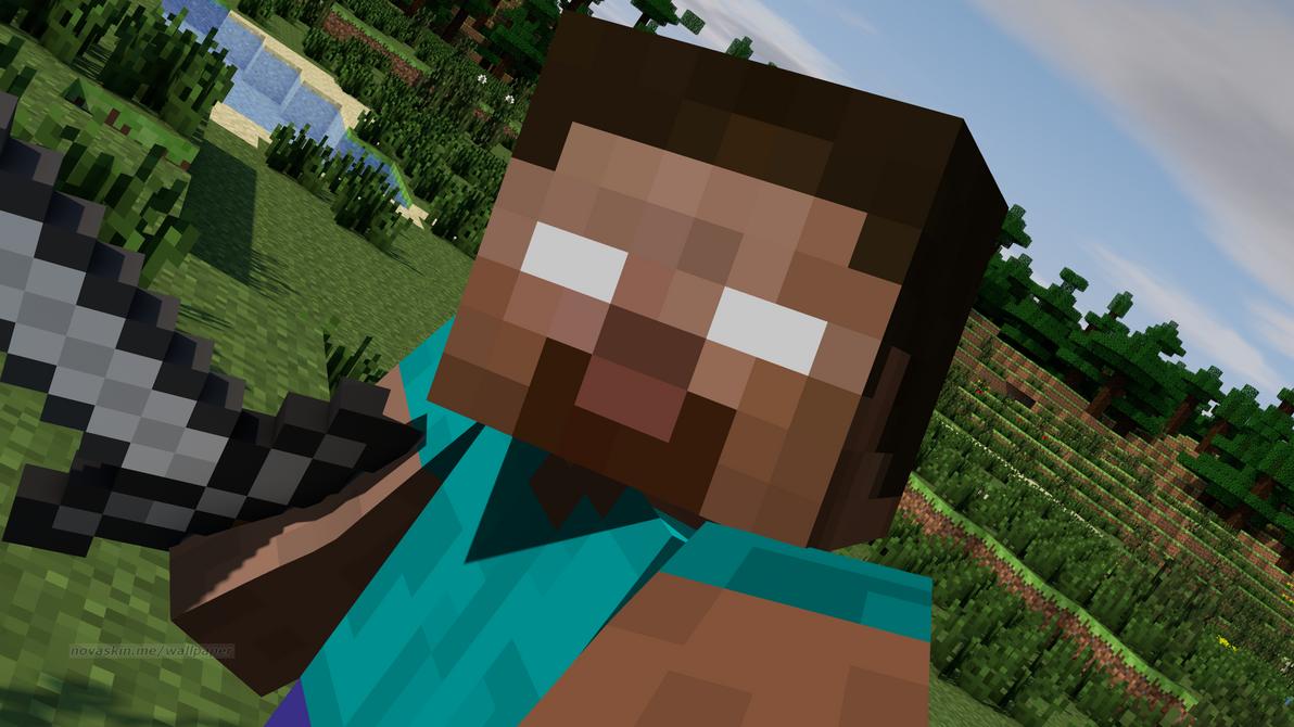 Minecraft I Found You Steve By Natom96