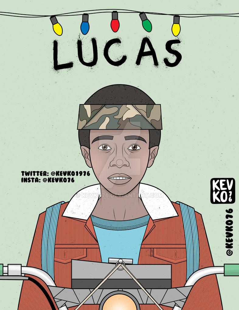 Lucas Stranger Things By Kevko76 On Deviantart