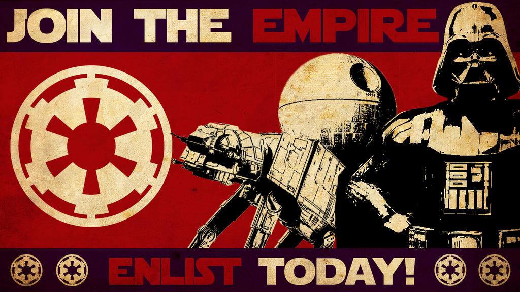 Star Wars Empire Propaganda Wallpaper By Matheusfrancischini On Deviantart