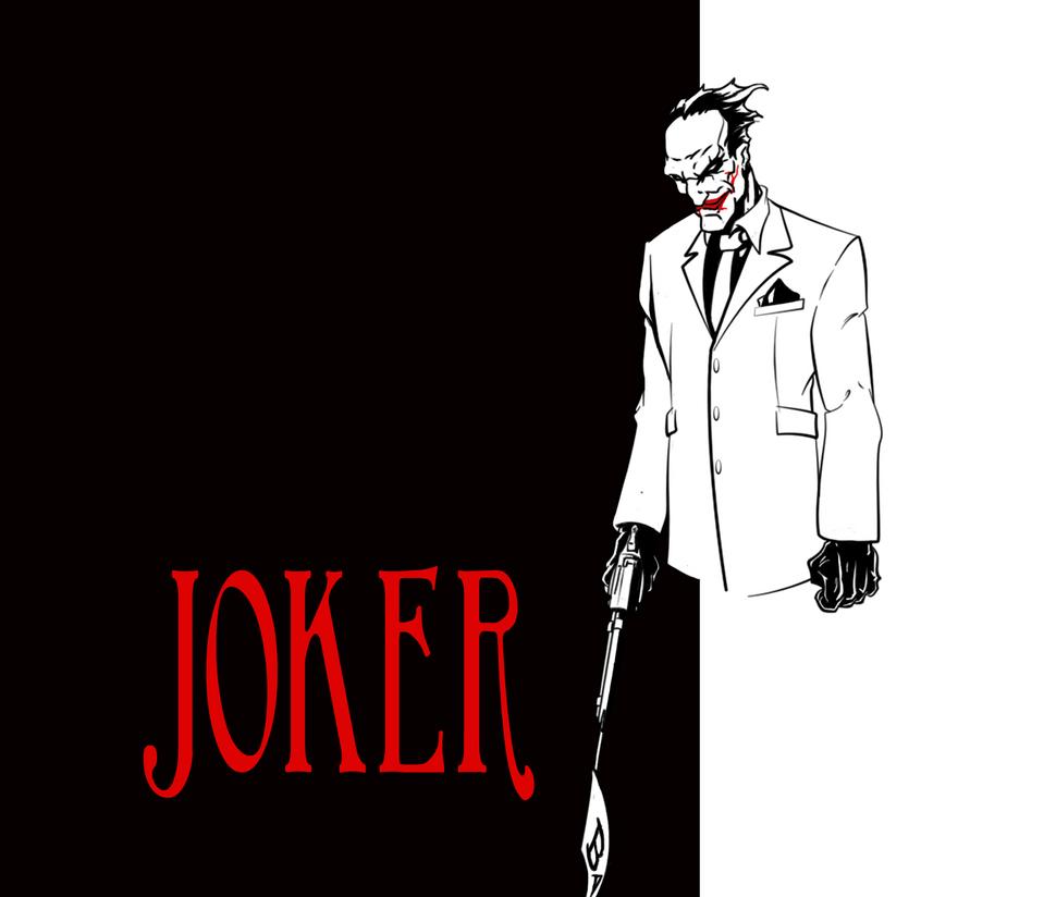 Scarface joker by juicexii on deviantart - Scarface cartoon wallpaper ...