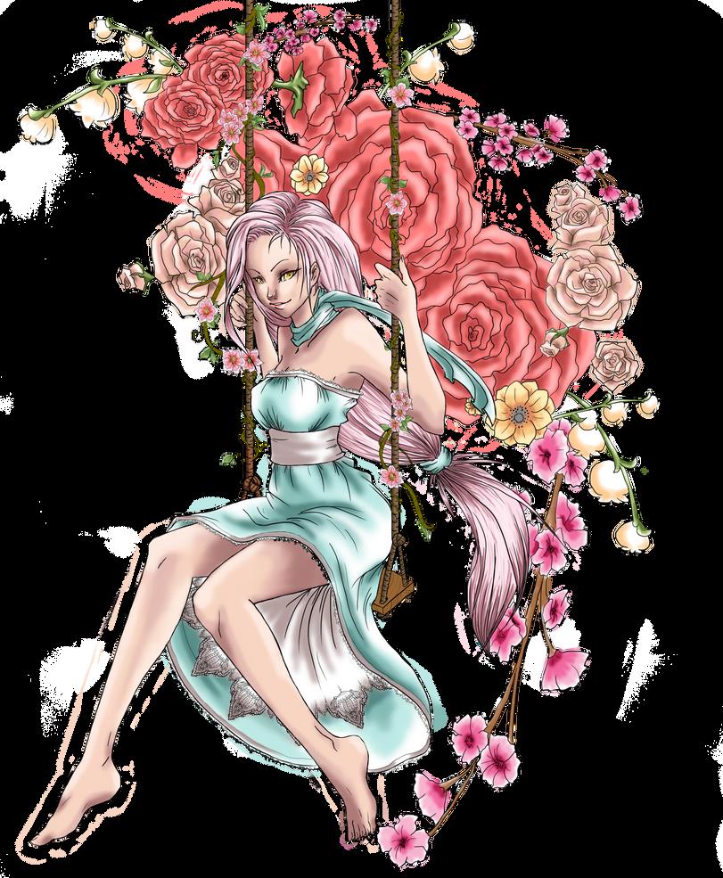Spring Celebration - Color by Eesgorn