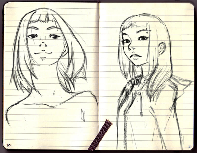 Sketches by Eesgorn