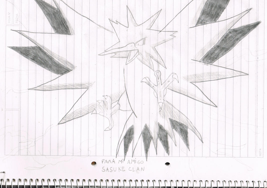 Zapdos - Sketch by nachomaan