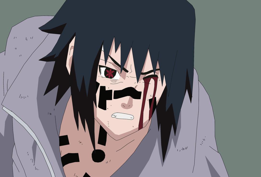 Sasuke Crying Blood Sasuke Uchiha by nachomaan