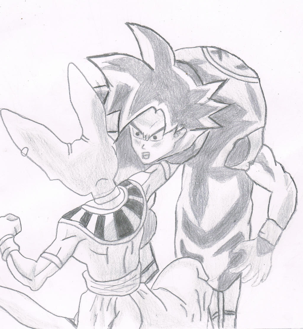 Goku Vs Bills Sketch By Nachomaan On Deviantart