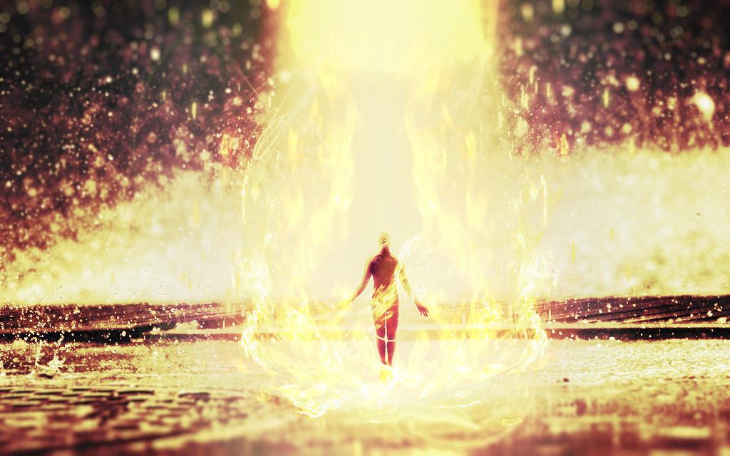 Fire elemental by V-A-R-E-K-A-I