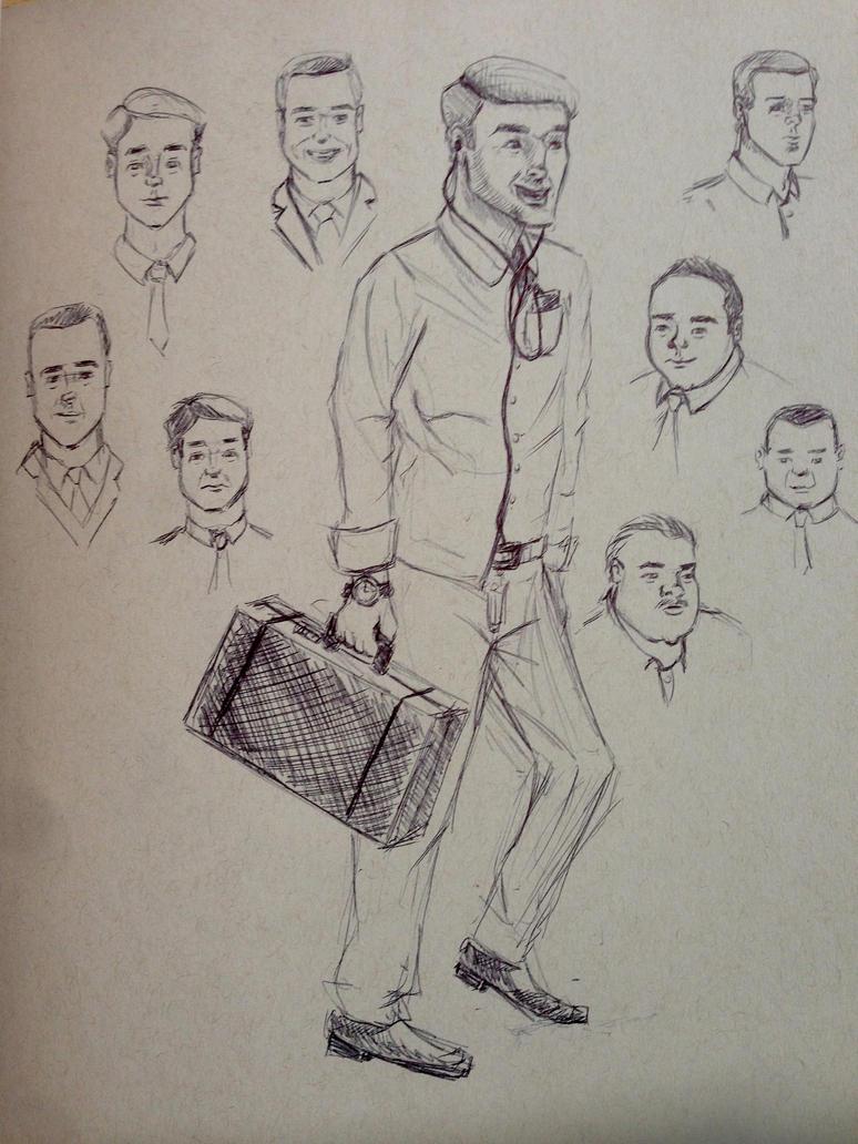 Sketchbook 5 by NoWayMe2