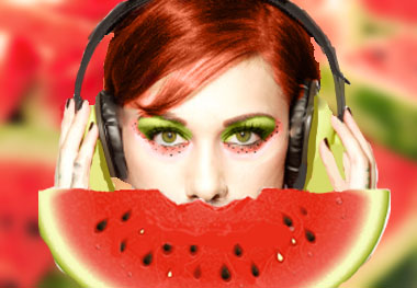 Watermelon by tillybells