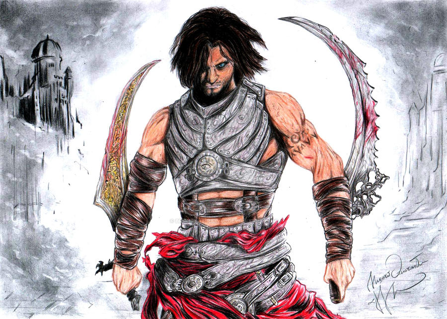 Prince of persia warrior within women