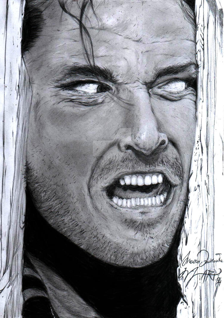 Jack Nicholson The Shining By Bring The Pain40 On Deviantart