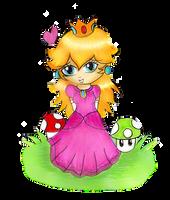 Chibi Princess Peach by Jrynkows