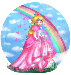 Collab: Princess Peach by Jrynkows