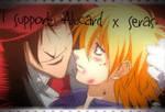 Alucard x Seras Stamp by GoldenGirl954
