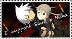 I Support Soul x Maka Stamp by GoldenGirl954