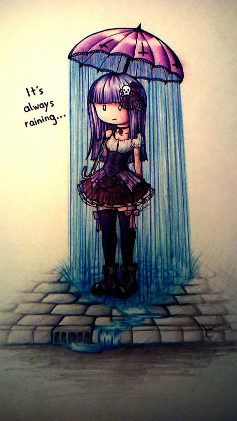 It's always raining by Cleopay