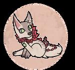 Chibi Flower Doggo