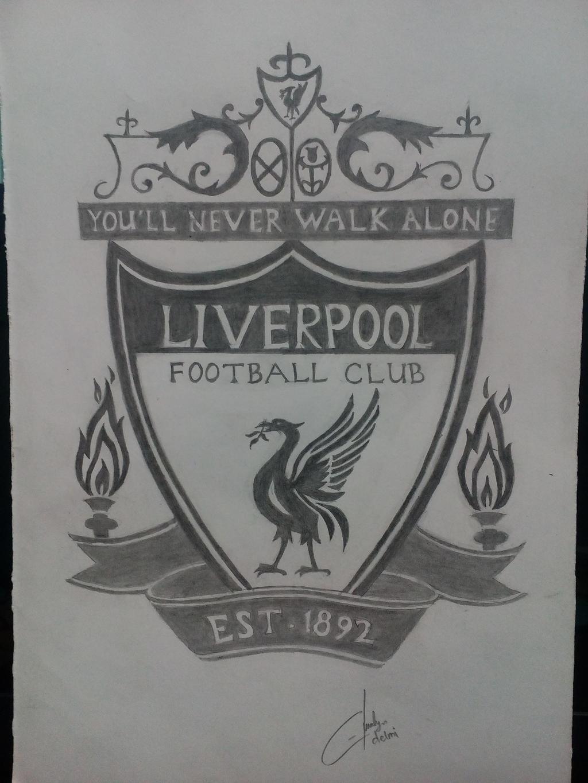 Liverpool FC Logo by dlmimiart on DeviantArt