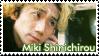 Miki Shinichirou Stamp by SapphireRhythm
