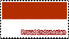 Proud Indonesian Stamp by SapphireRhythm