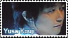 Yusa Kouji Stamp by SapphireRhythm