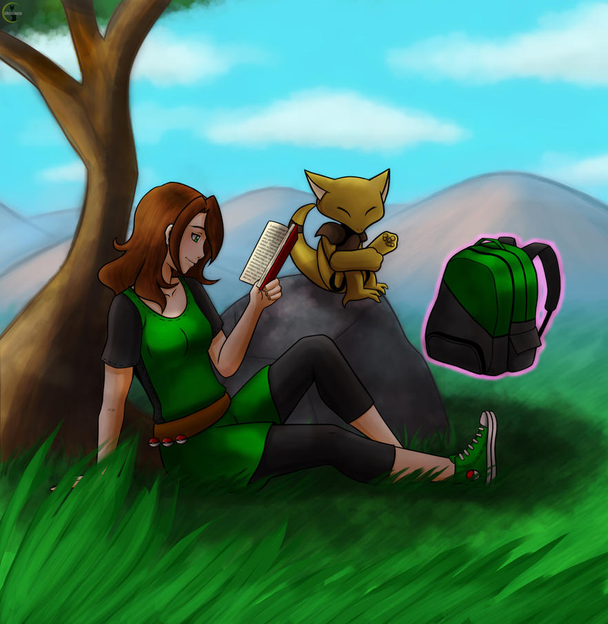 [Poke-Pal] Relaxing by NekoLiliah