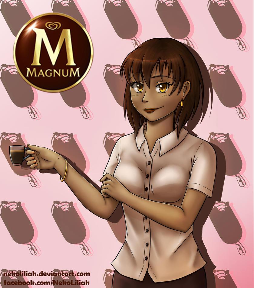 [Random] Magnum Black by NekoLiliah