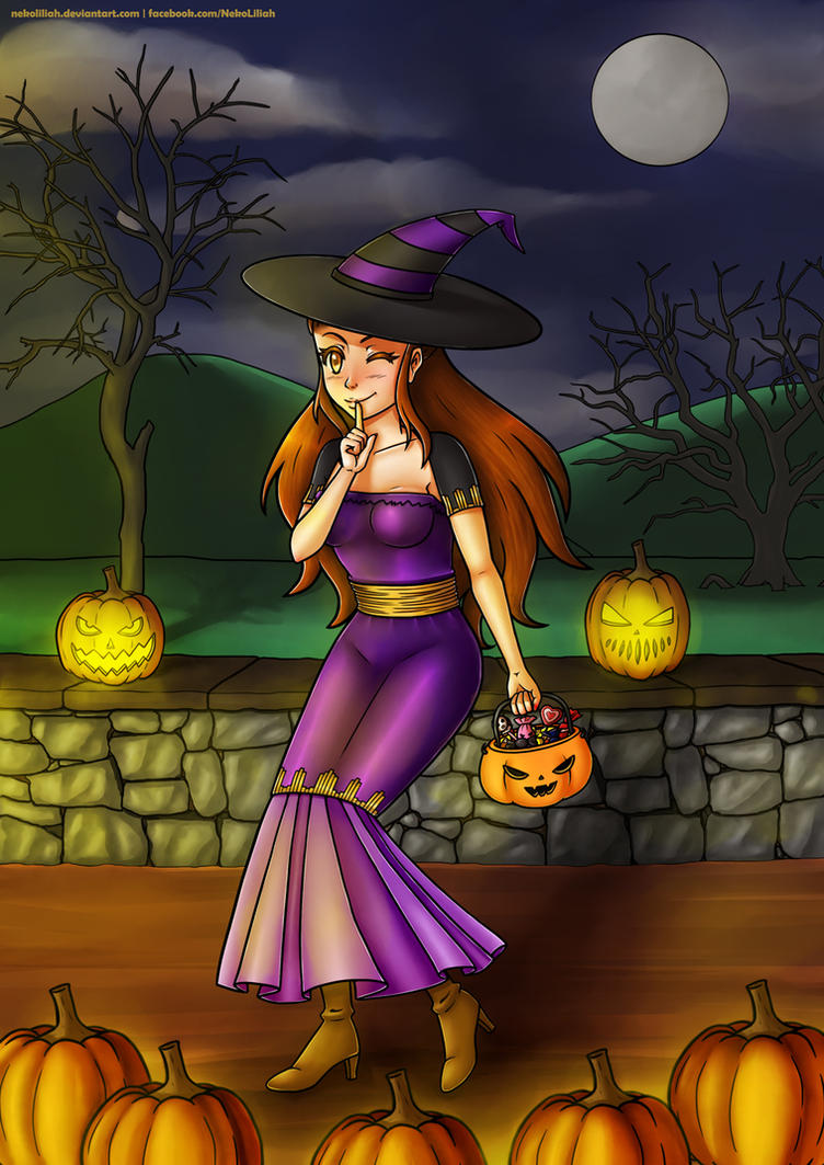 Happy Halloween by NekoLiliah