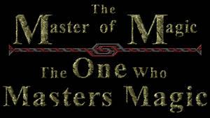 One Who Masters Magic Logo by Trivas