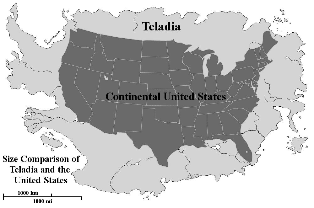 Teladia-United States Size Comparison by Trivas on DeviantArt