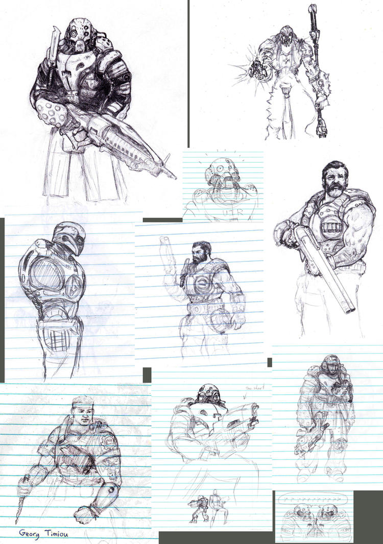 Gears of Sketchdumps by Wisdom-Thumbs