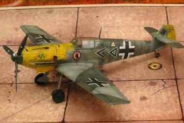 1/72 Bf 109 E4 ICM I./JG3 Hahn by Pyranose