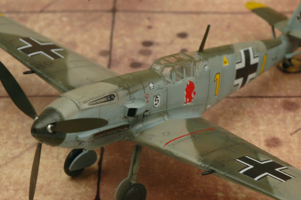 1 72 Bf 109 E4 Academy 9 Jg26 Schopfel By Pyranose On