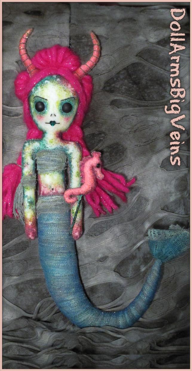 Mermaid Doll by DollArmsBigVeins